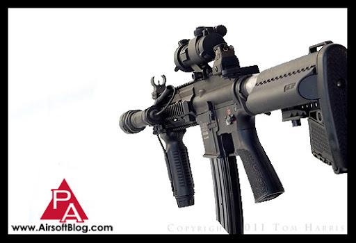 Airsoft Guns, Custom VFC HK416 CQB Airsoft AEG, Custom Airsoft Gun, Pyramyd Airsoft Blog