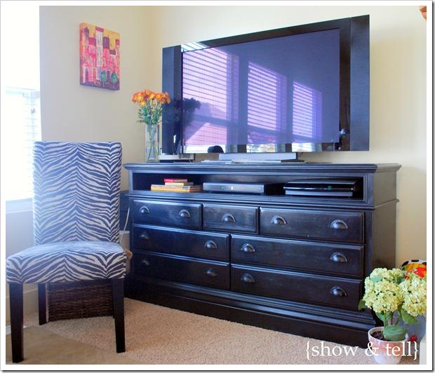 Oldish Dresser Turned Tv Console Sweet Pickins Furniture