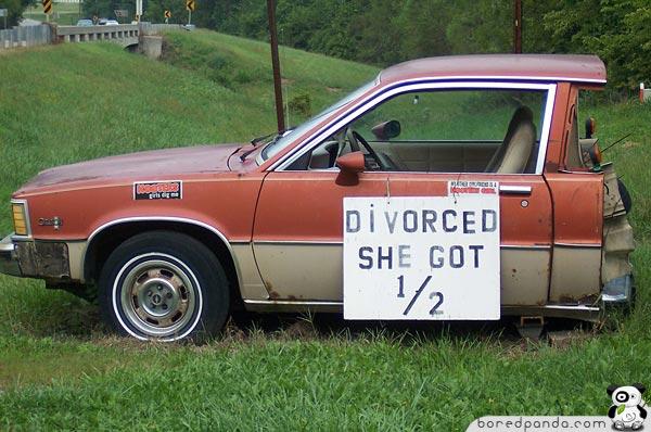 cars weird weirdest unusual ever divorced