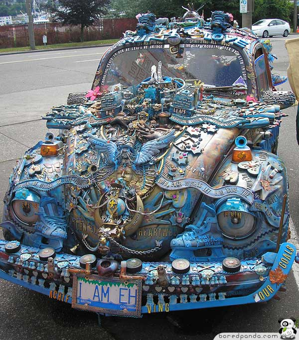 Top 20 Weirdest Cars Ever Made