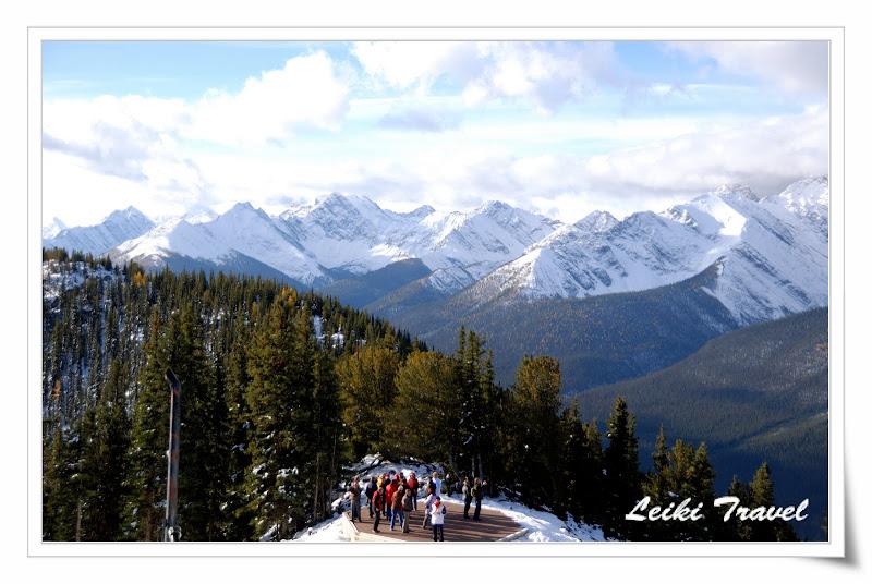加拿大 Banff Gondola 山上一景
