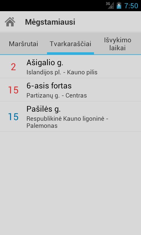 Busai Kaunas- screenshot