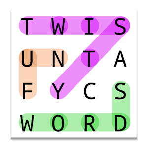 Twisty Word Search Puzzle Free for PC and MAC