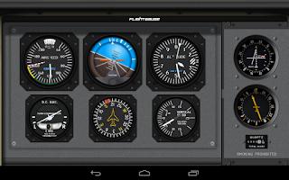 Screenshot of FlightGauge Trial