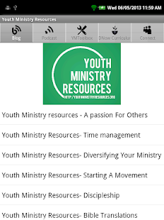 Youth Ministry Resources- screenshot thumbnail