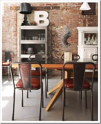 exposed brick hallie burton