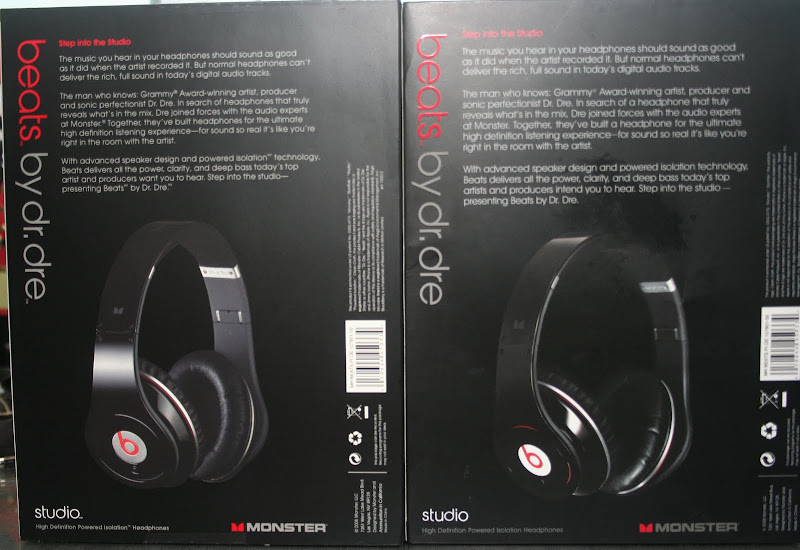 FAKE Monster Beats Studio HD: Here is how to tell a real
