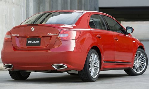 Suzuki represents the sports version of sedan Kizashi