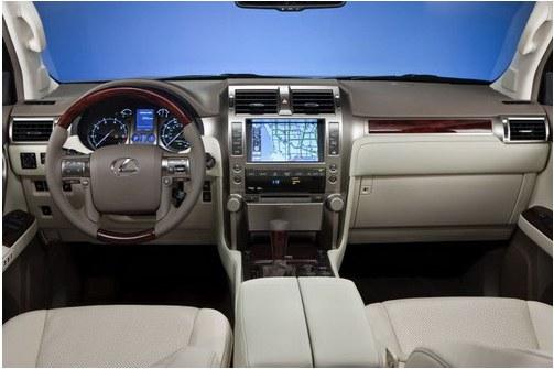 Interior Lexus GX