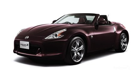 Deep Maroon for Fairlady Z Roadster