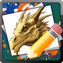 Drawing Lessons Creatures icon