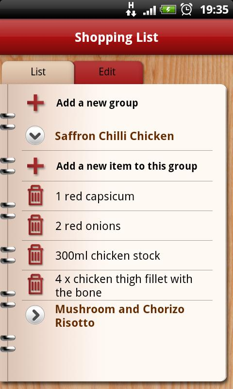 Yahoo!7 Food - screenshot