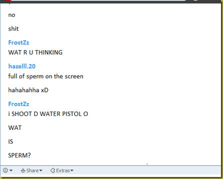 Funny Skype Conversation D