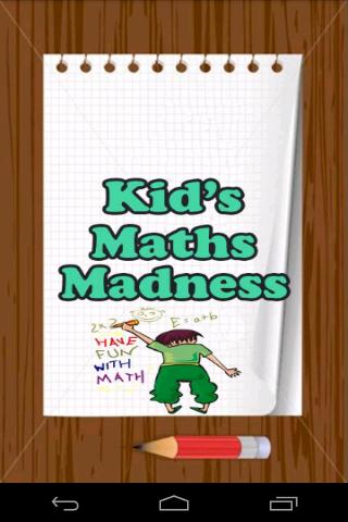 Kids Maths Madness