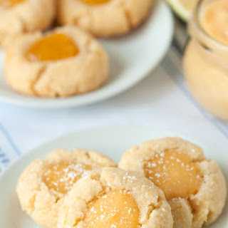 Gluten-Free Lemon Thumbprint Cookies