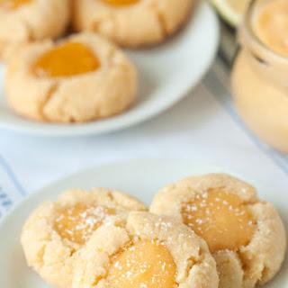 Gluten-Free Lemon Thumbprint Cookies.