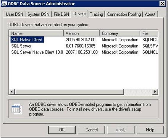 DotNet technical blog: 32-bit Driver Installation for 64‑bit Platforms