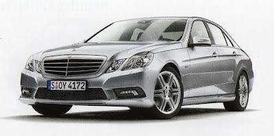 новый Mercedes Benz E класс 2009