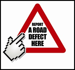 Report road Defect Logo