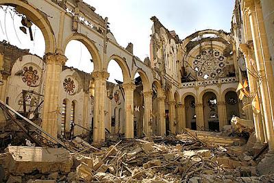 Catedral de Puerto Príncipe tras el Terremoto de Haití