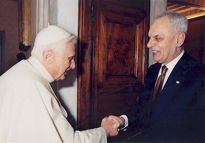 Marcello Pera con Benedicto XVI