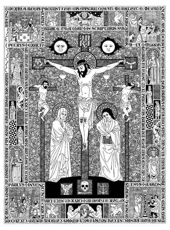 Crucifixión, por Daniel Mitsui