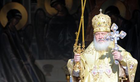 Patriarca de Moscú, Kiril, en la celebración del Día de Conversión de Rusia