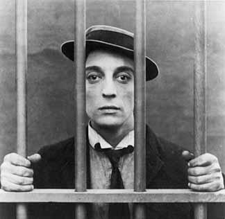 Buster Keaton entre rejas