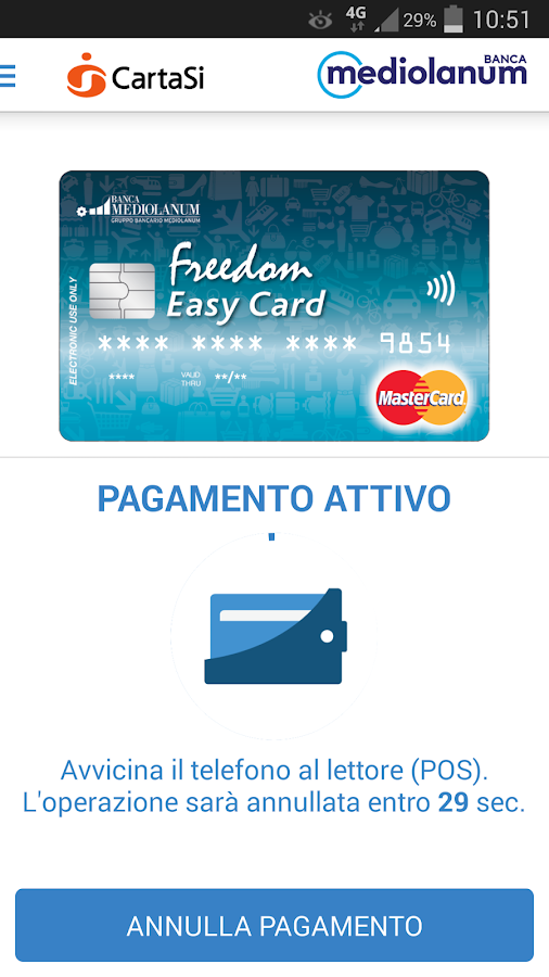 Freedom Easy Card PLP- screenshot