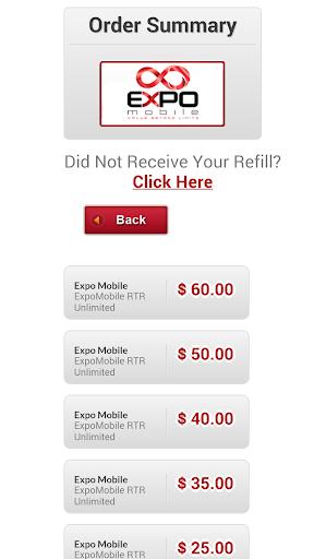Expo Mobile Auto Refill