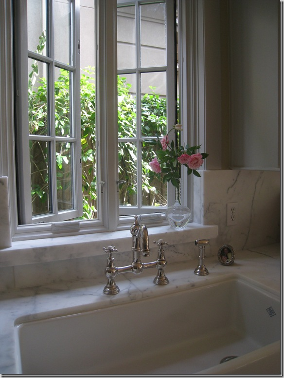 Country Style Kitchen Sink Things That Inspire: French windows