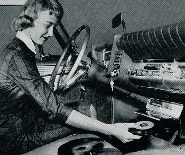 Car Record Players & Other Cool Vintage Devices.