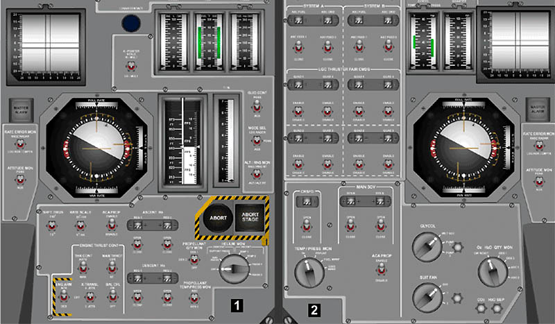Apollo Instrument-Panel (page 3) - Pics about space