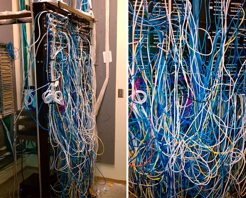 Telephone Wiring Board