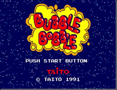 Bubble Bobble Master System