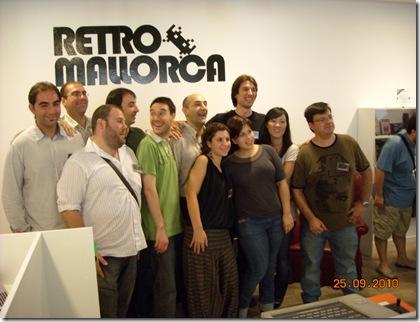 Organizadores del RetroMallorca 2010.