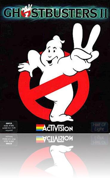 Ghostbuster 2 (Amiga cover)