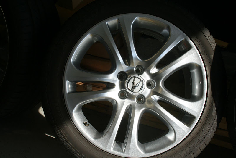 "2001 Acura Tl 3 2 >> Acura 19"" Sparkle Silver Wheels"