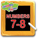 Numbers 7-8 for LKG Kids