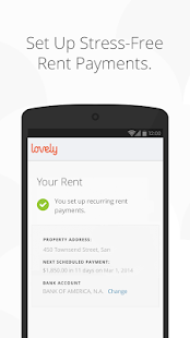 Lovely - Find Homes & Pay Rent - screenshot thumbnail