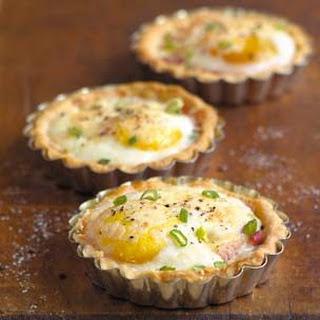 Ham and Egg Breakfast Tarts.