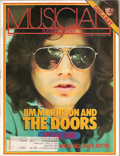 The Doors Daily Jim Morrison Musician Magazine