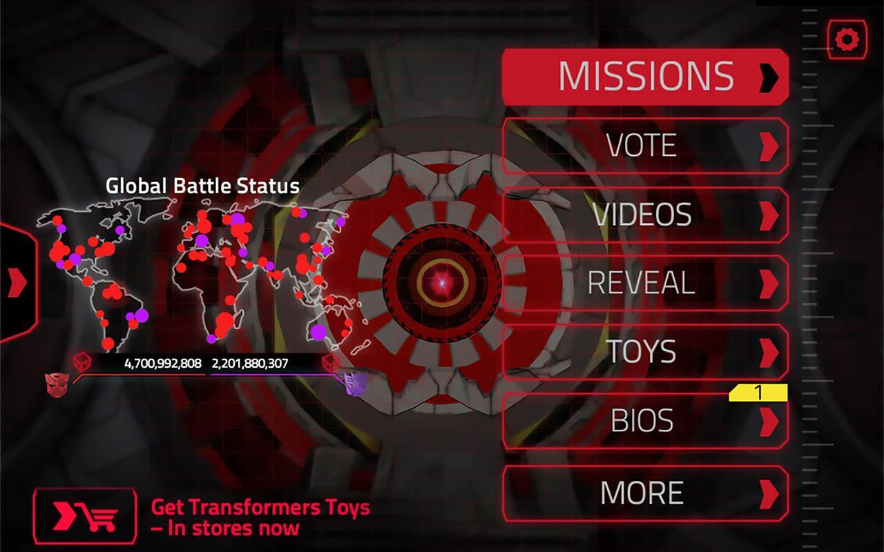TRANSFORMERS Official App - screenshot
