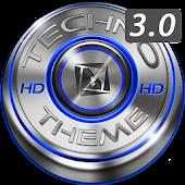 TSF Shell HD Theme Techno 3D