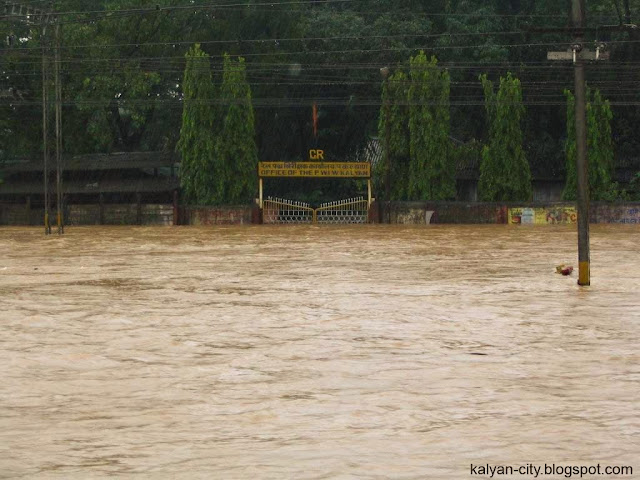 kalyan city flood