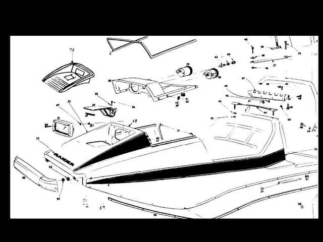 Raider Hawk  U0026 Double Eagle Snowmobile Parts Manuals W