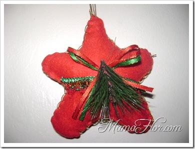 Como hacer una estrella navideña -6629