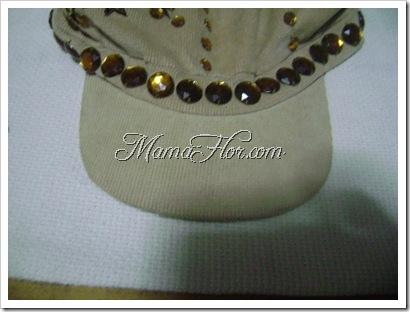 ac08c4e2a0b23 Como decorar una gorra para niña - Manualidades MamaFlor