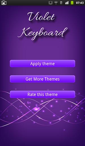 Violet Keyboard