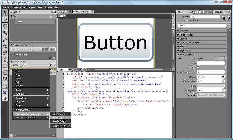 Ning Zhang's Blog: Viewbox control in Silverlight Toolkit